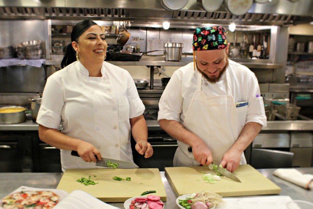 Christinne and Carlos kitchen